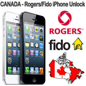 Unlock iPhone Rogers/Fido Canada Clean IMEI